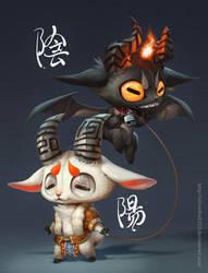 Yin Yang by Silverfox5213