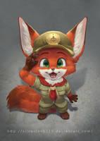 Lil Zoo Scout by Silverfox5213