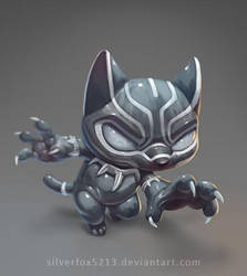 Lil Black Panther by Silverfox5213