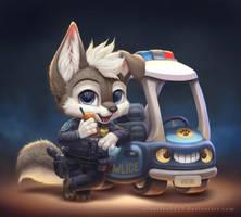 Pupper Pawlice by Silverfox5213