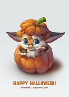 Happy Halloween 2016 by Silverfox5213