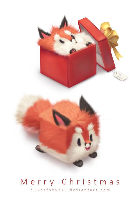 Fluffy Christmas by Silverfox5213