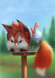 Post Fox by Silverfox5213