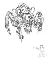 Robot WIP by Silverfox5213