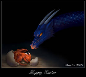 Easter Dragon by Silverfox5213