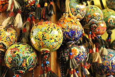 Turkish Pottery by AlexaHarwoodJones