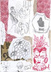 Art Journal Page 5 by AlexaHarwoodJones