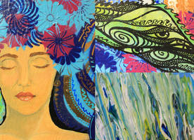 Dream's Creation - Detail by AlexaHarwoodJones