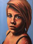 Self Portrait by AlexaHarwoodJones
