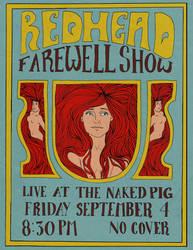 Redhead Farewell Show by AlexaHarwoodJones