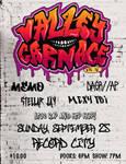 Valley Carnage Vol IV Poster by AlexaHarwoodJones