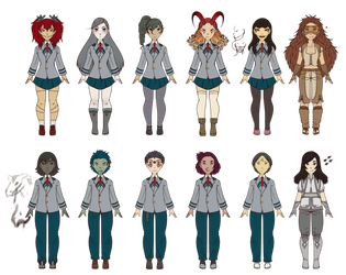 BnHA - UA Students + Pros Adoptables 6/12 OPEN by Fouffey