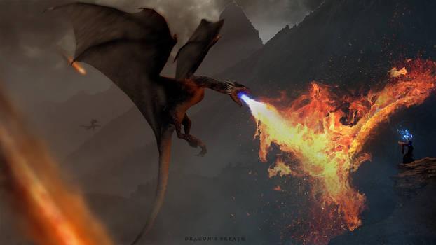 Dragon's breath by Fiantoduri