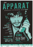 APPARAT at SFINKS by simcDT