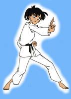 Edogawa Ran-Karate by DCMKAzarathMage