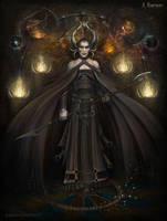 The Dark Mage by Morphera