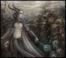 Necromancer - Close-up by Morphera