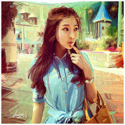 sweet girl by ShuShuhome