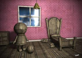 Doll House by Illustrationsbyoscar