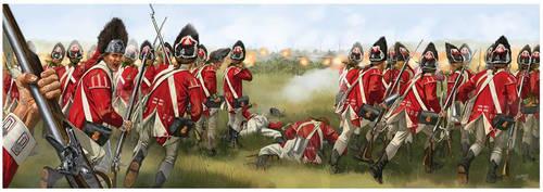 Battle of Brandywine by JohnnyShumate