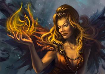 Harpy woman by ayuttt