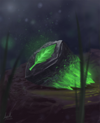 Magic stone by ayuttt