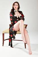 Carlotta Robe by Tsaos