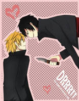 DRRR: Izaya and Shizuo by tsu-kumo