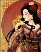 Ryuu Hime by ladylionink