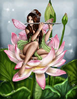the fairy flute by ladylionink