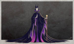 Maleficent by chostopher
