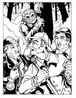 Holmes meets Wolfman by Batman4art