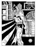 Vigilant Bat by Batman4art