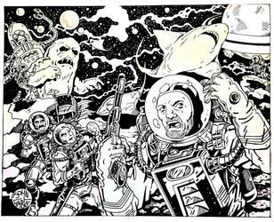 Space Fantasy by Batman4art