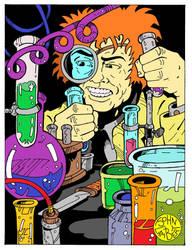 Mad Scientist by Batman4art