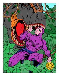 The Phantom-T-Rex by Batman4art