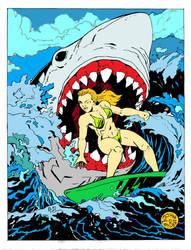 Shark Week by Batman4art