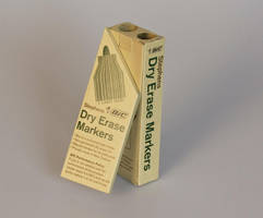 Packaging for Dry Erase Markers - Back by RowanMcAlpine