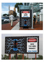Advertising Campaign for Demon Energy Drink by RowanMcAlpine