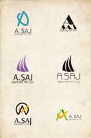 A Saj Logo by Antvak