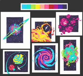 Space Exploration Collection by CometShine