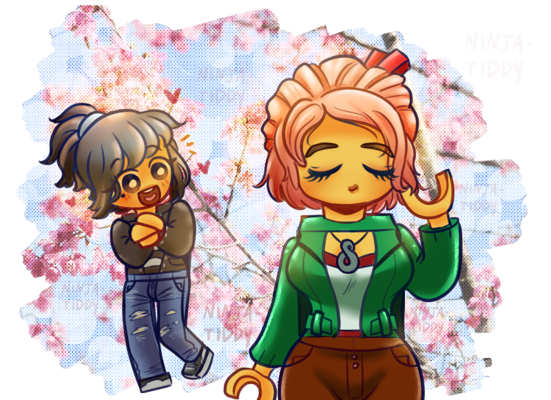 Ninjago Movie: Nya And Koko By YASSDENSWH On DeviantArt