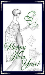 Happy New Year 2017 by Vampirbiene