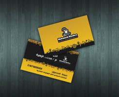 Mohamed Elzahra Logo and Card by ahmedelzahra