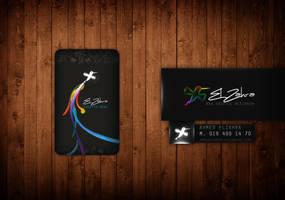 Elzahra Design Logo and Card by ahmedelzahra