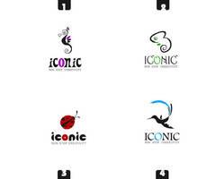 ICONIC Logos Design by ahmedelzahra