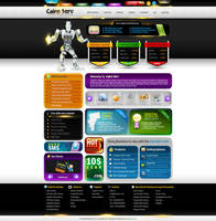 CairoServ Hosting web Design by ahmedelzahra