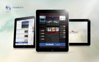 Naseej Portal iPad by ahmedelzahra