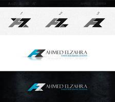 new formal logo for me AZ by ahmedelzahra