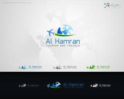 Al Hamran Logo Design by ahmedelzahra